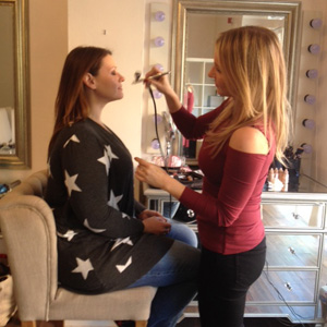 Philadelphia boudoir and glamour makeup artist