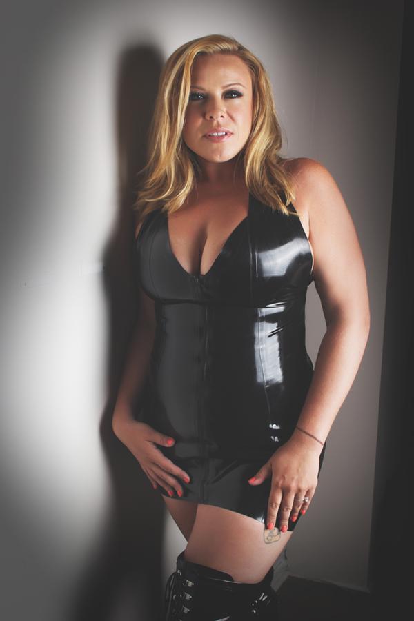 LoriMannPhotography-boudoir-latex-dress